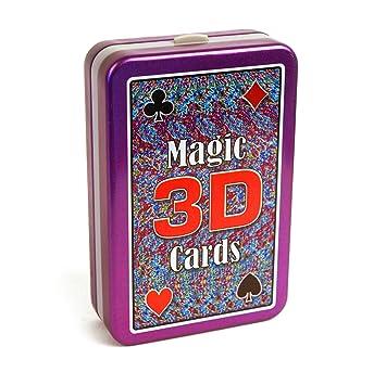 Magia 3D truco transparente juego de cartas: Amazon.es: Hogar