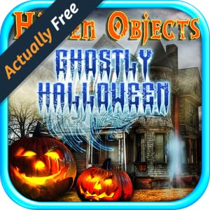 Hidden Objects Ghostly Halloween – Hidden Object Seek & Find Games FREE