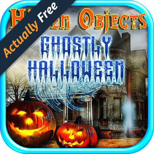 Hidden Objects Ghostly Halloween - Hidden Object Seek & Find Games FREE (Halloween Hidden Object Games)