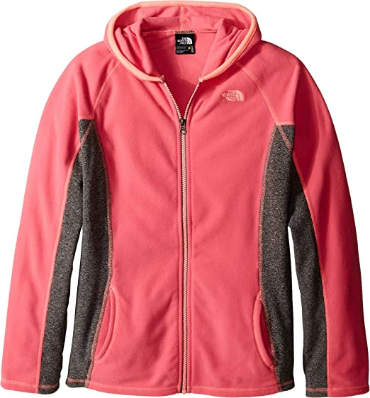 f9fc29d5b Amazon.com: The North Face Girls' Glacier Full Zip Hoodie (Little ...