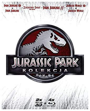 9bafc25a74 Jurassic Park 3D + The Lost World  Jurassic Park + Jurassic Park III + Jurassic  World 3D BOX 6Blu-Ray Region Free English audio  Amazon.co.uk  Sam Neill