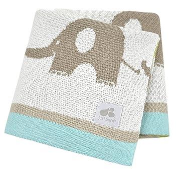 051d3b39561f Amazon.com   Just Born Jacquard Sweater Blanket