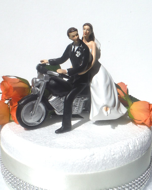 DreamWedding-UK Figurine de mariés en résine Artificielle pour gâteau de Mariage, numéro 3 Number 20