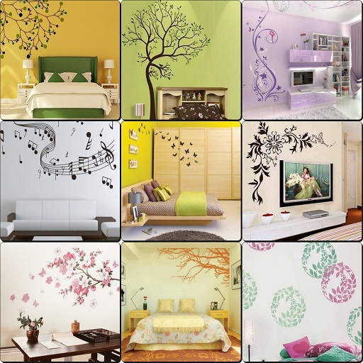 Painting Rooms Ideas (Wall Decorative Painting Ideas)