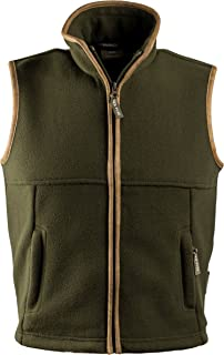 Jack Pyke JKGILJCOUDOM Junior Kids Countryman Fleece Gilet (Medium, Dark Olive)