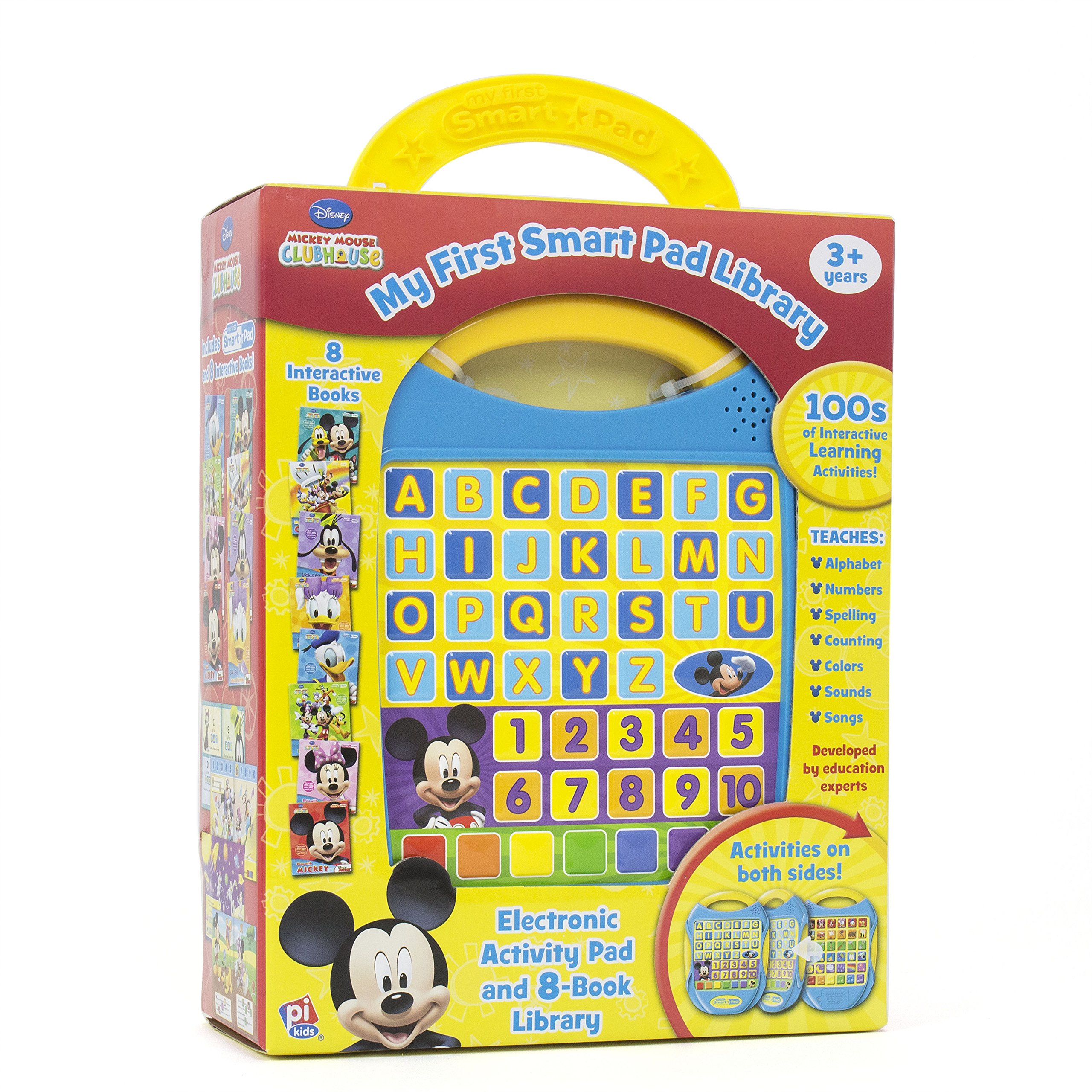My First Smart Pad Disney Junior 3 Toy School Book Mickey Mouse Doc Mcstuffins