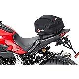 Motorrad-Heck-Tasche QBag Hecktasche Motorrad 03, Motorradgepäck für Soziussitz/Gepäckträger, Motorrad Hecktasche, 5 Liter Stauraum, leichtes Be-/Entladen, schwarz
