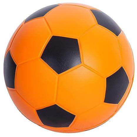 Spielzeug für draußen Softball Gr 4 300 g weicher PU Schaumstoff Schaumstoffball Softball grün blau