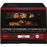 日立 ヘルシーシェフ スチームオーブンレンジ メタリックレッド MRO-SV1000 R