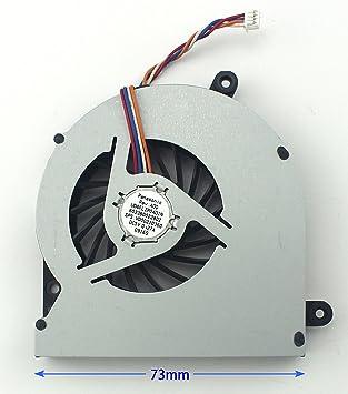 CHNASAWE - Ventilador de CPU para Toshiba V000220360 UDQFLZP04D1N ...