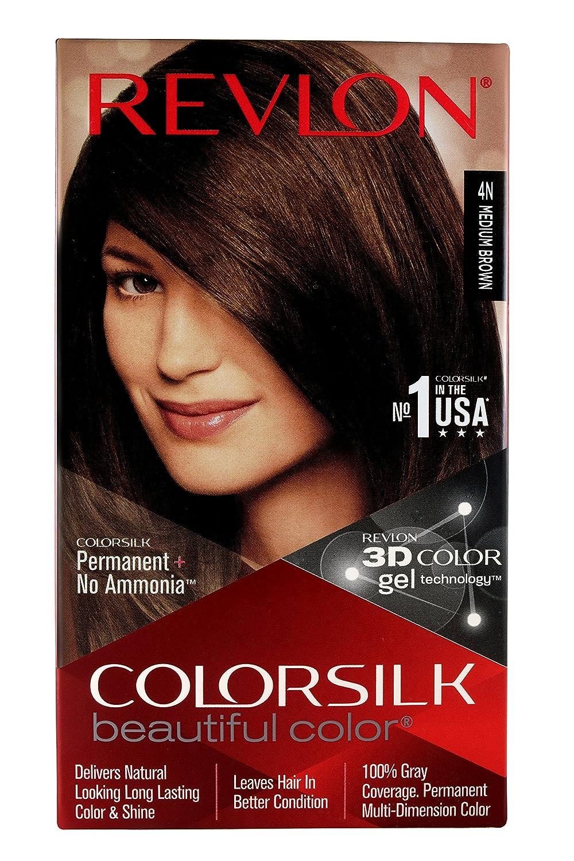 Buy Revlon Colorsilk Hair Color With 3d Color Technology 4n Medium