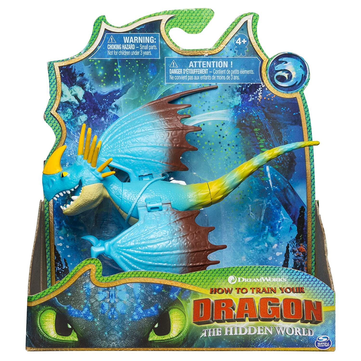 DreamWorks Dragons, Stormfly Dragon Figure with Moving Parts, for Kids Aged 4 and Up