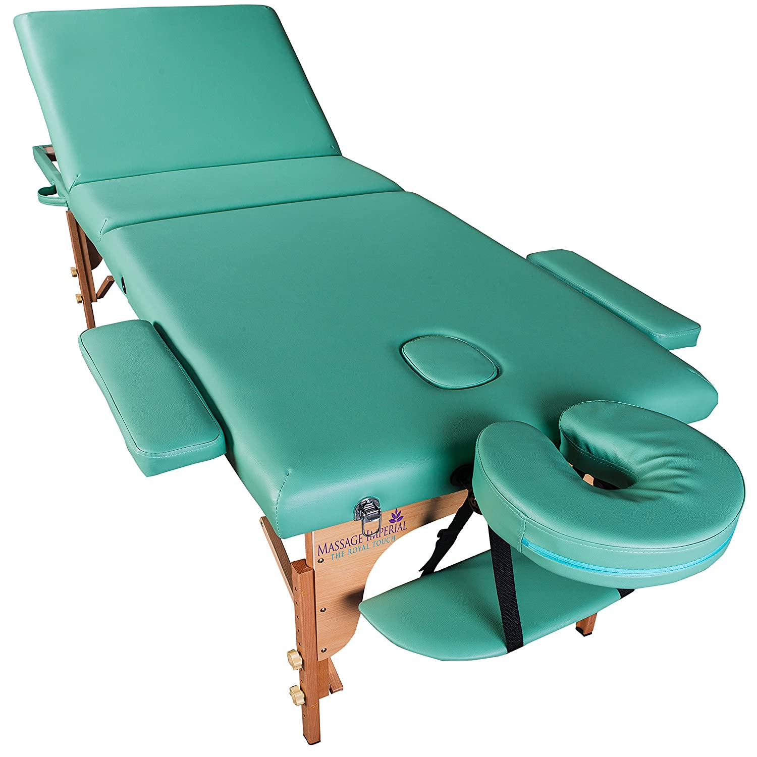 Lightweight portable massage table - Massage Imperial Lightweight Professional Light Green 3 Section Portable Massage Table Couch Bed Spa Amazon Co Uk Health Personal Care