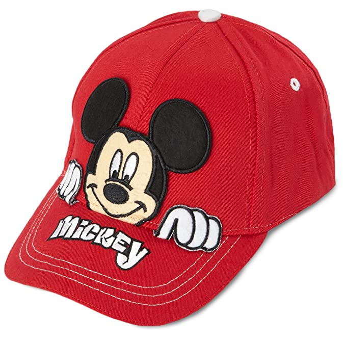 Image Unavailable. Image not available for. Color  Disney Boys Mickey Mouse  Cotton Baseball Cap ... f3e075c748b4