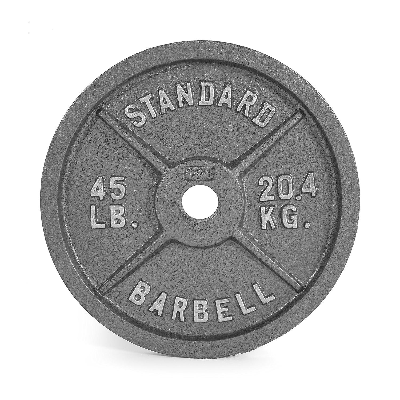 Cap Barbell Olympischen 2 Gewicht, grau, Single