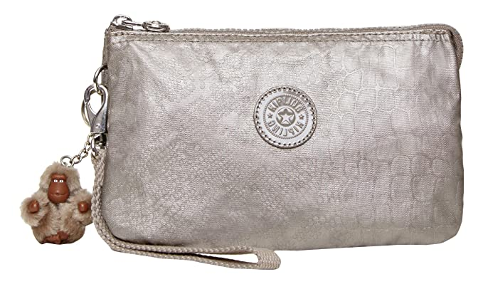 Kipling Creativity Xl Crspc2, Metallic Pewter
