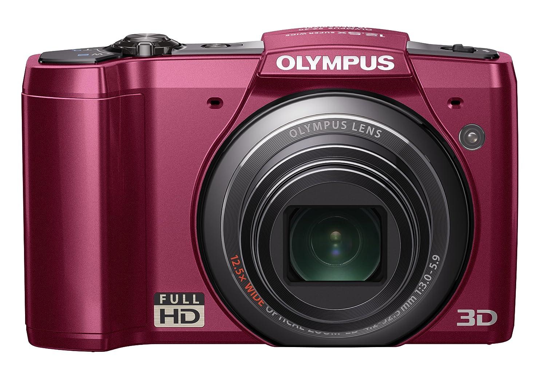 OLYMPUS デジタルカメラ SZ-20 レッド 1600万画素 光学12.5倍ズーム 広角24mm 3.0型液晶 3Dフォト機能 フルハイビジョンムービー SZ-20 RED  レッド B004RJ1DQ0