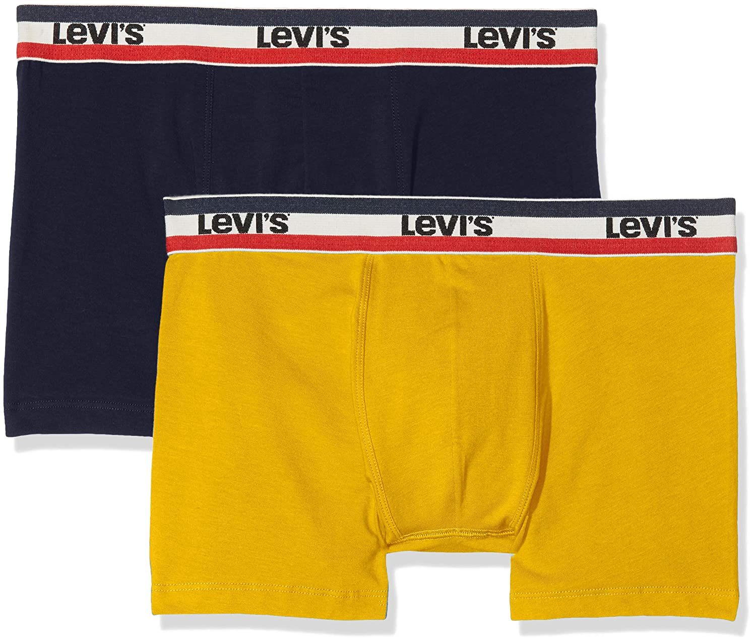 Levis Levis 200sf Sprtswr Logo Color Boxer Brief 2p, Hombre (Pack de 2): Amazon.es: Ropa y accesorios