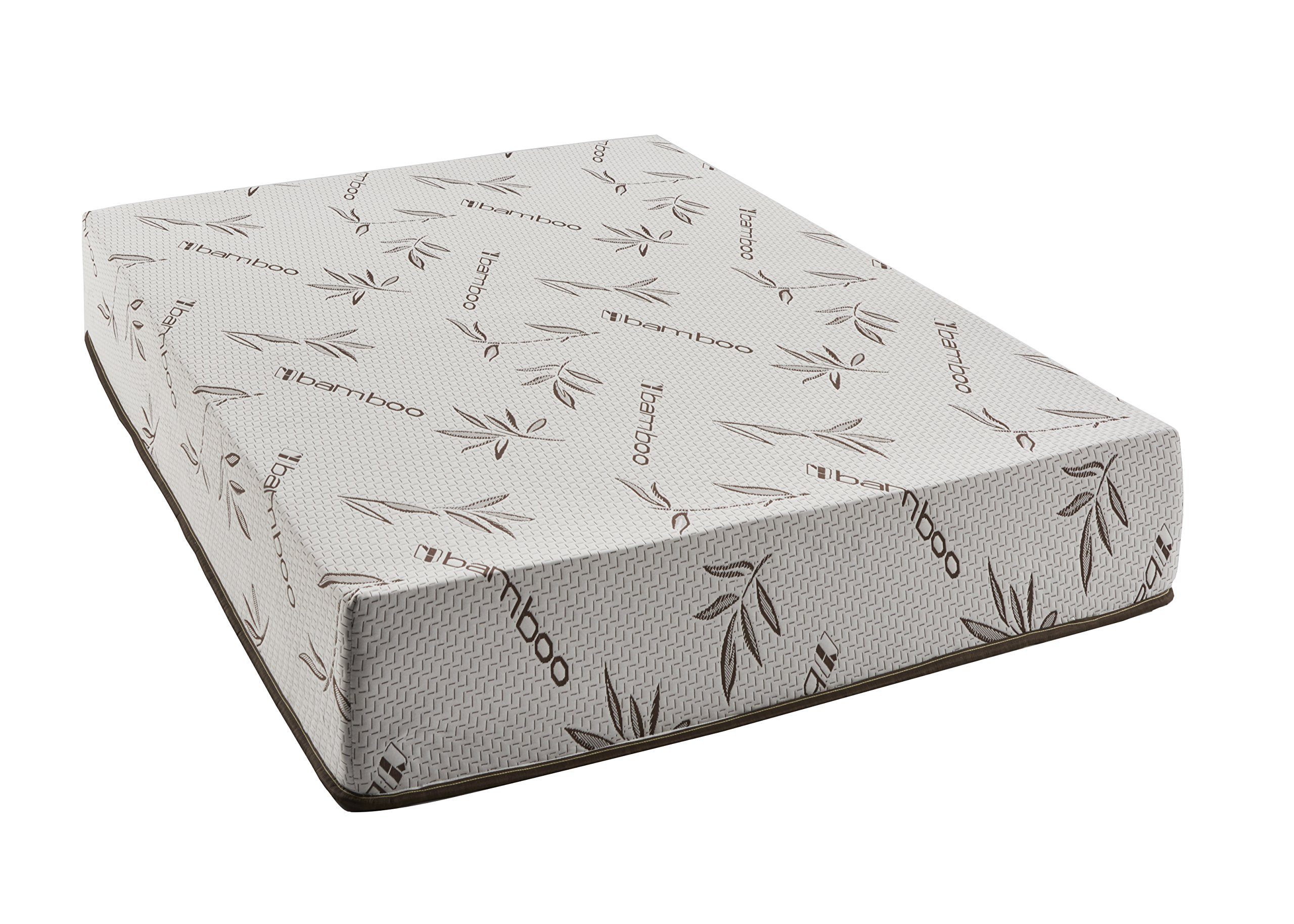 Customize Bed 10 Inch Gel Memory Foam Bamboo Mattress Cot