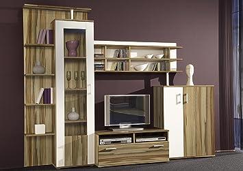 Xana Möbel Wohnzimmerschrank Wohnwand Schrankwand Anbauwand