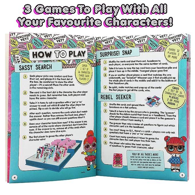 Amazon.es: L.O.L. Surprise! Munecas LOL Surprise Dolls Juguete para Ninas Actividad Creativa Actividades de Fiesta para Nina Confeti Glitter Pops L O L: ...