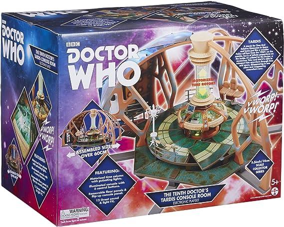 DOCTOR WHO 06294 - Juego Tardis de 10th Electronic.: Amazon.es: Juguetes y juegos
