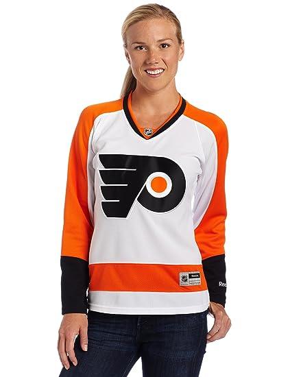 NHL Women s Philadelphia Flyers Reebok Premier Team Jersey - 7214W51Fwrpfl  (White b926cf53a