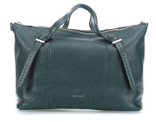 75ea495a41ba9 Ted Baker Oellie Handbag Dark Green  Amazon.co.uk  Shoes   Bags