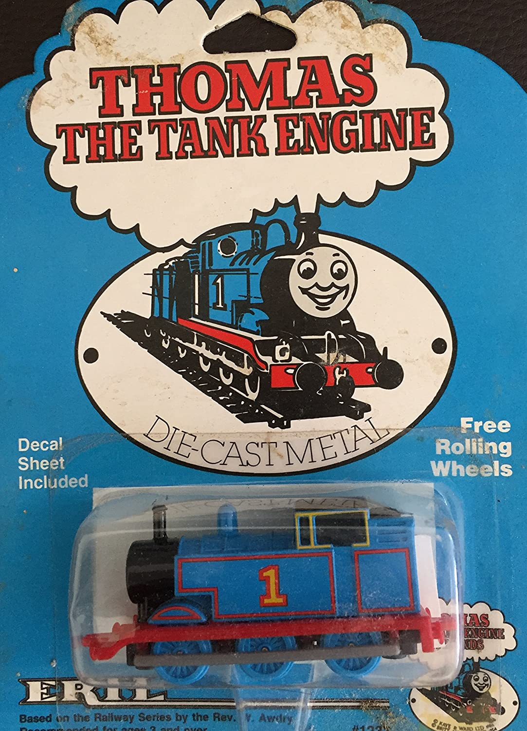 VIntage Thomas The Tank Engine And Friends ERTL High Quality Diecast Metal Vehicle New On Card Ultra Rare Amazoncouk Toys Games