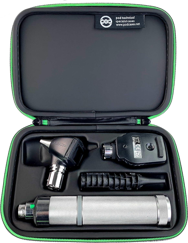 Funda de transporte dura premium para Otoscopio Welch Allyn y juegos de diagnóstico de oftalmoscopio: Amazon.es: Salud y cuidado personal
