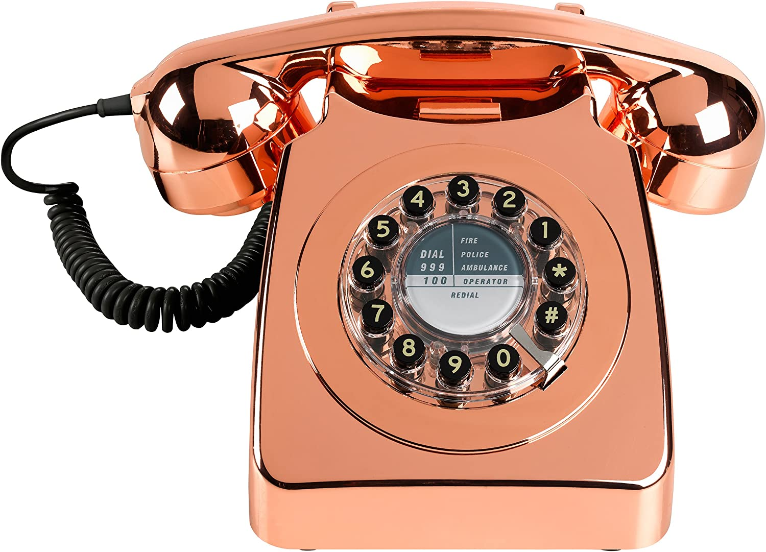 WILD AND WOLF - 746 Telephone - Copper