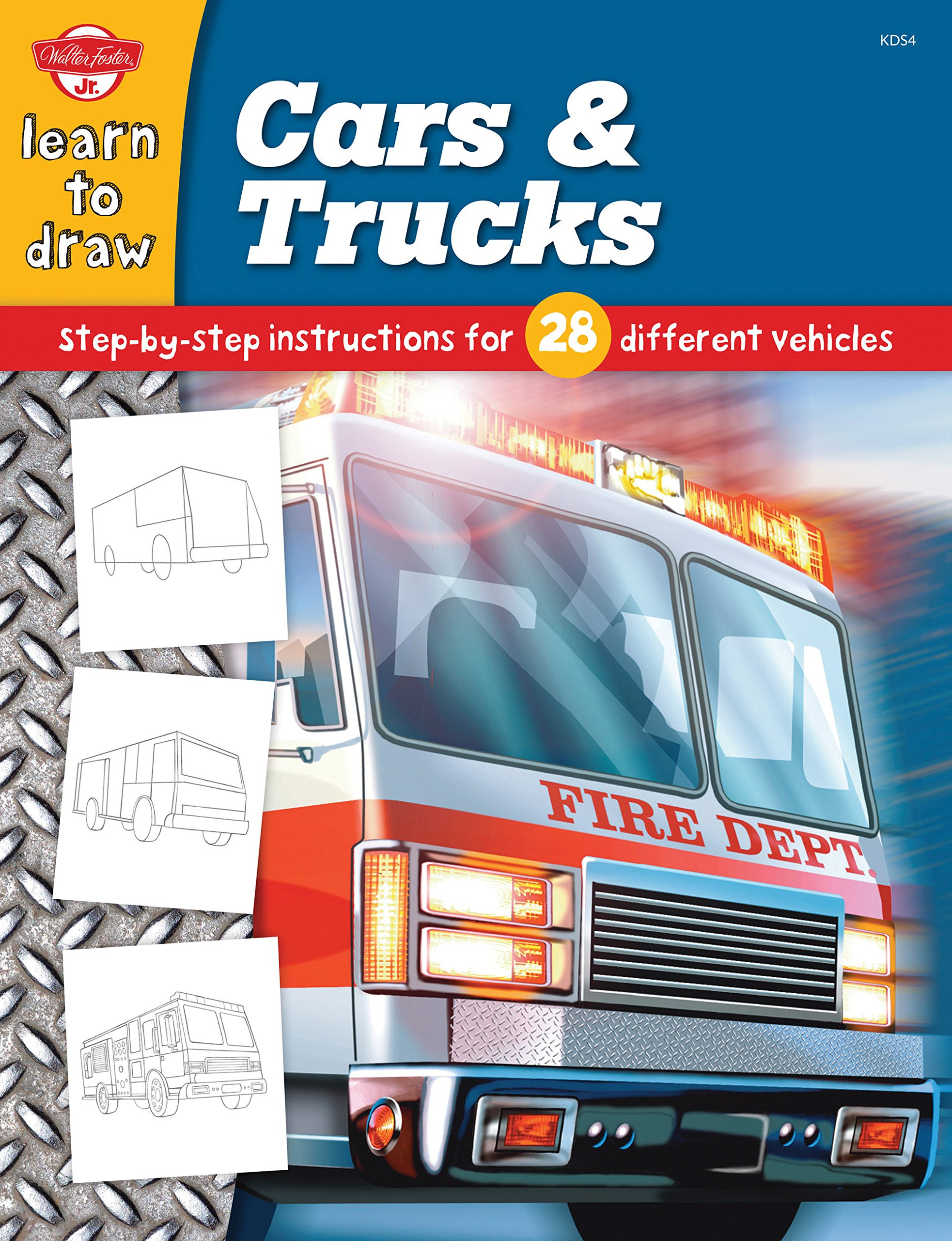 Cars & Trucks (Learn to Draw)