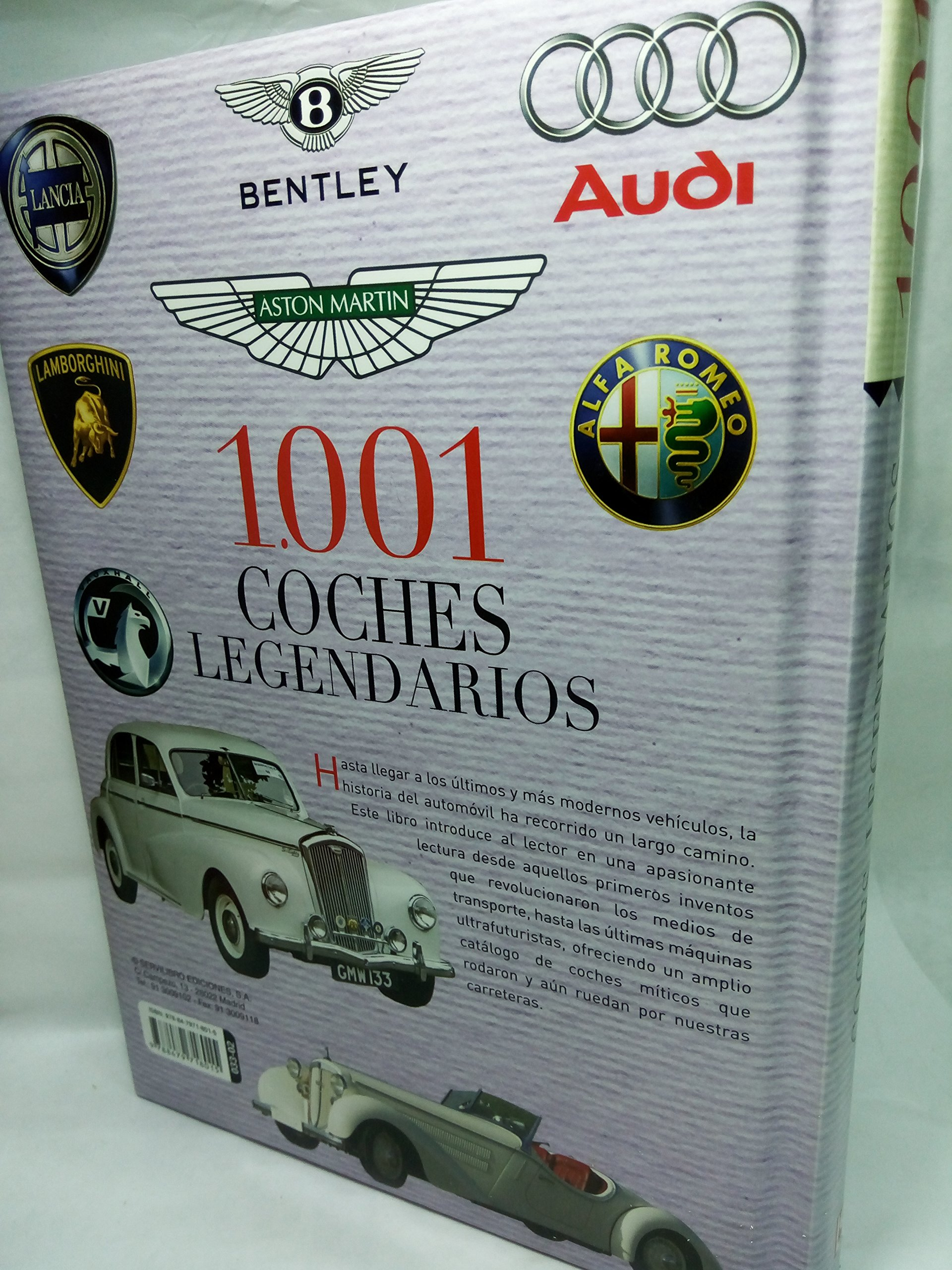 1001 COCHES LEGENDARIOS - SERVILIBRO: VARIOS: 9788479718015: Amazon.com: Books