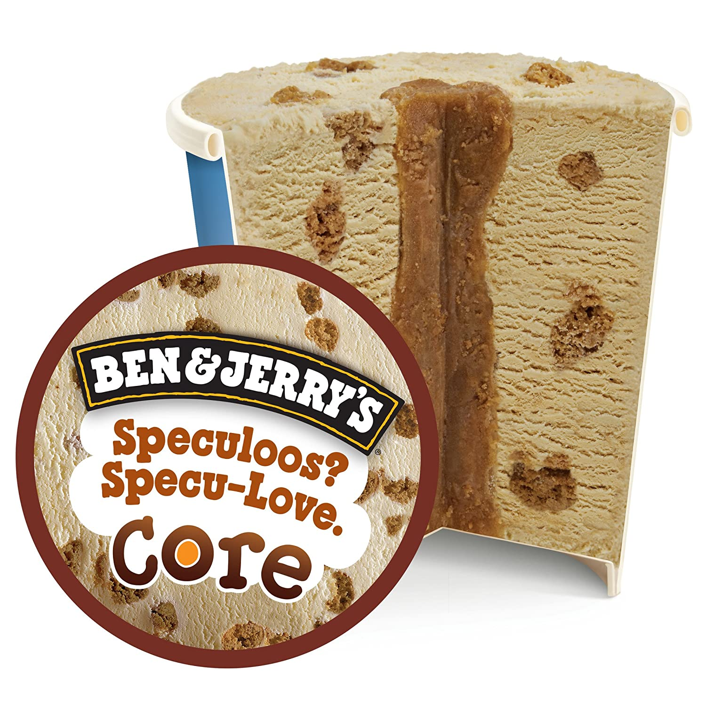 Ben & Jerrys Speculoos Speculove Helado Tarrina - 500 ml: Amazon.es: Alimentación y bebidas