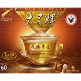 Prince of Peace American Wisconsin Ginseng Root Tea (2 boxes x 30 teabags each)