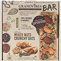 Granovibes Bar Mixed Nuts Crunchy Oats 168G (28G X 6)