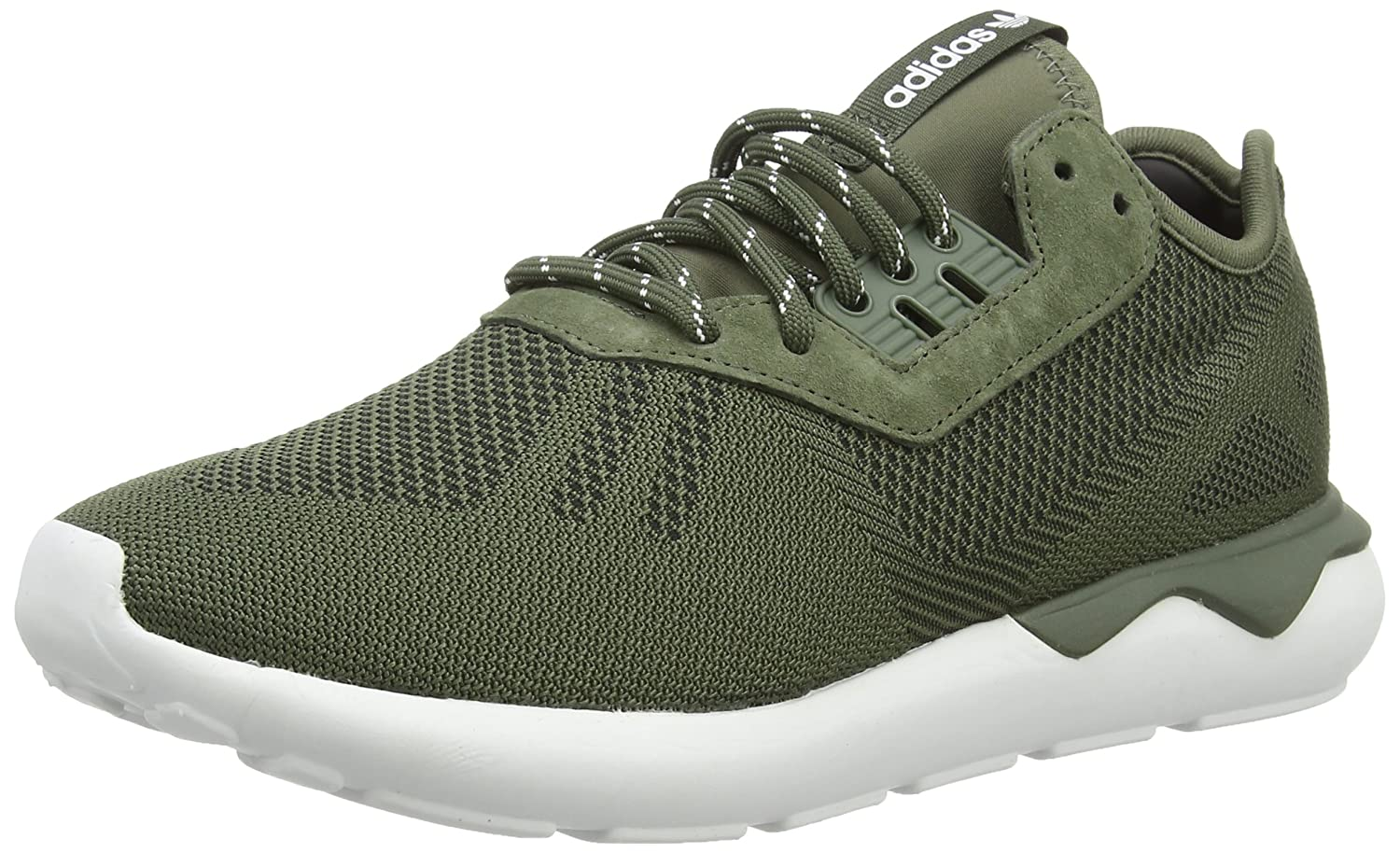 c7bbca7e10fa99 adidas Men s Tubular Runner Weave Running Shoes  Amazon.co.uk  Shoes   Bags