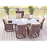 7pc Patio Furniture Set - Seats 6