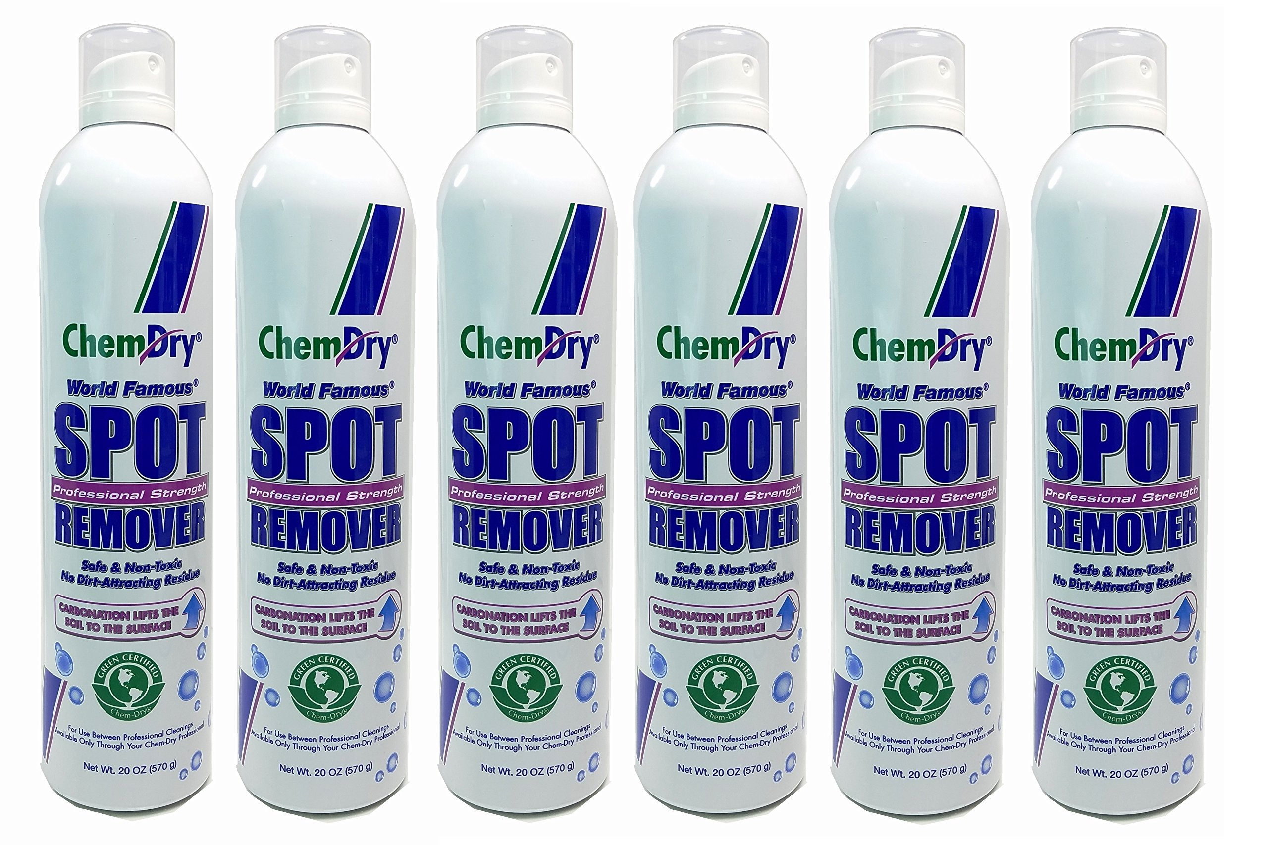 Chem-Dry Professional Strength Spot Remover 20 Oz (6 Pack) by Chem-Dry