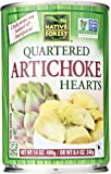 Native Forest Artichoke Hearts, Quartered, 14 Oz