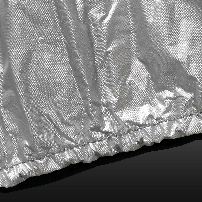 softgarage Aluminium-Silber silvertec Silber Heavy Duty Premium Outdoor atmungsaktiv wasserabweisend