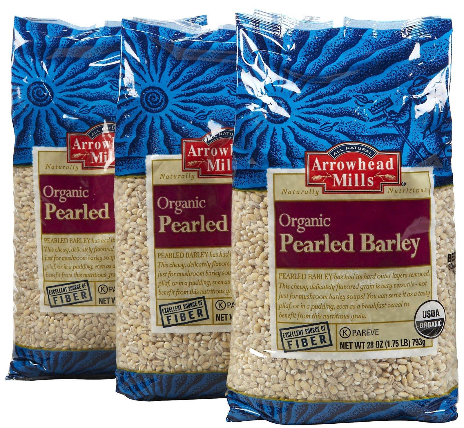 Arrowhead Mills Pearled Barley - 28 oz - 3 pk