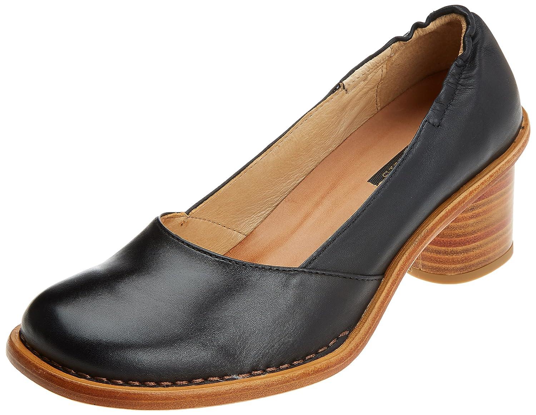 Neosens S577 Restored Skin Ebony/Debina, Zapatos de Tacón con Punta Cerrada para Mujer 39 EU