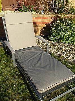 UK-Gardens - Coussin / Matelas pour Transat de Jardin - Grain beige ...
