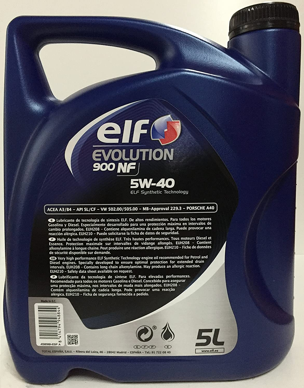 Oil Elf 5W40: reviews. Motor oil Elf