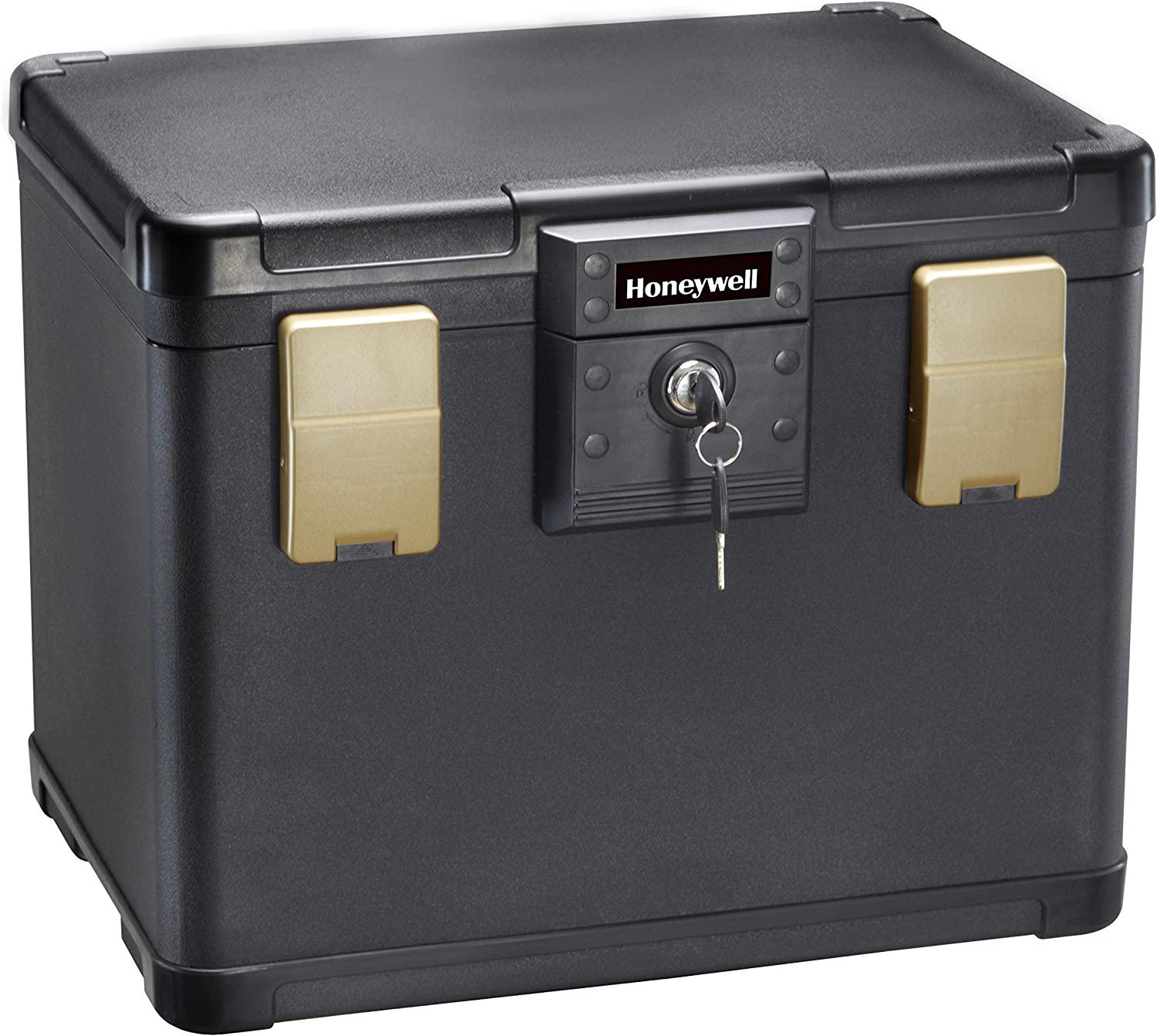 Honeywell Safes & Door Locks - 30 Minute Fire Safe Waterproof Filing Safe Box Chest (fits Letter and A4 Files), Medium, 1106: Home Improvement