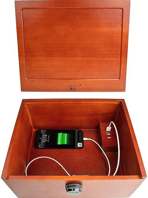 Amazon.com: Blake & Lake - Caja de carga con candado para ...