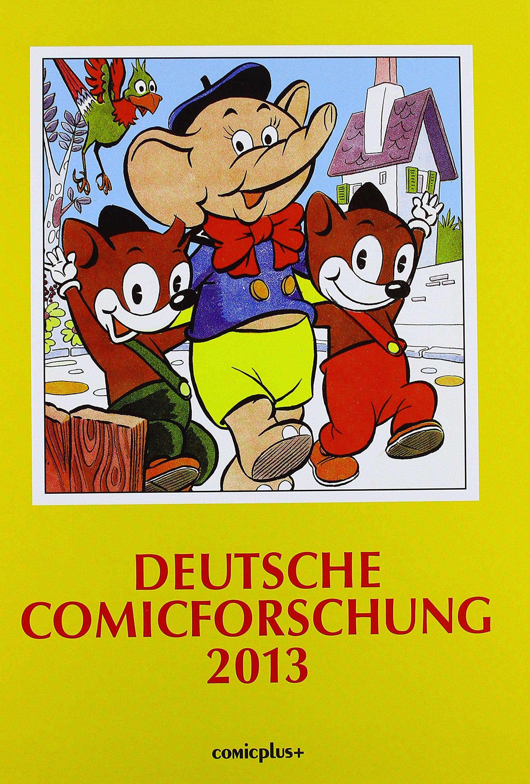 Deutsche Comicforschung 2013