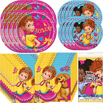 Amazon.com: Unique Fancy Nancy - Juego de vajilla con ...