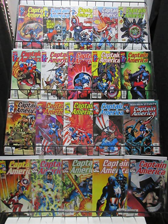 Captain America (Marvel v3 1998) #1-50 Lot of 49Diff Mark ...